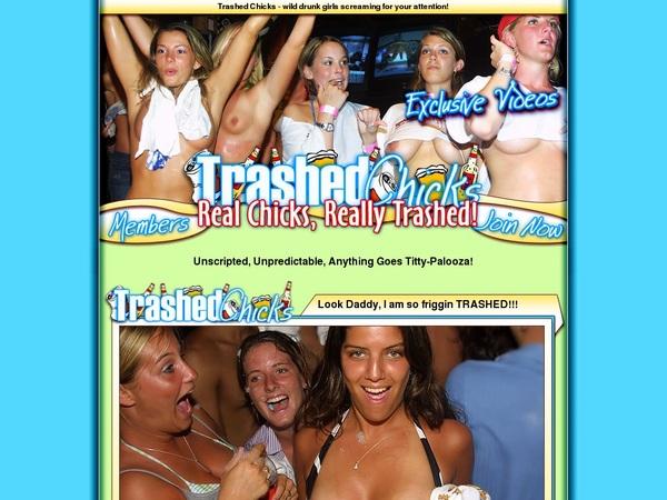 Login To Trashed Chicks Free