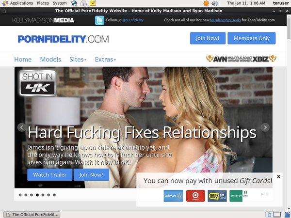 Porn Fidelity Site Passwords