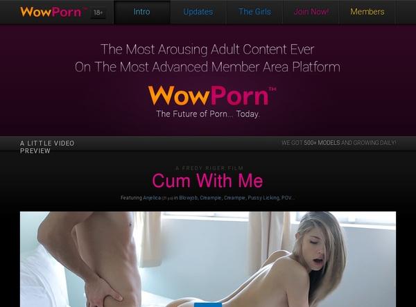 Free Wowporn Account Passwords