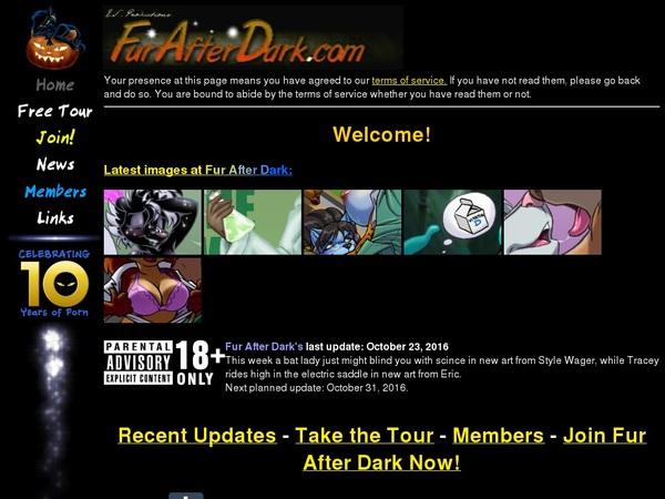 Fur After Dark Dvd